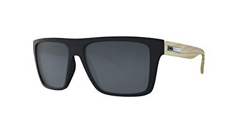 Óculos HB Floyd M Black/Wood Gray
