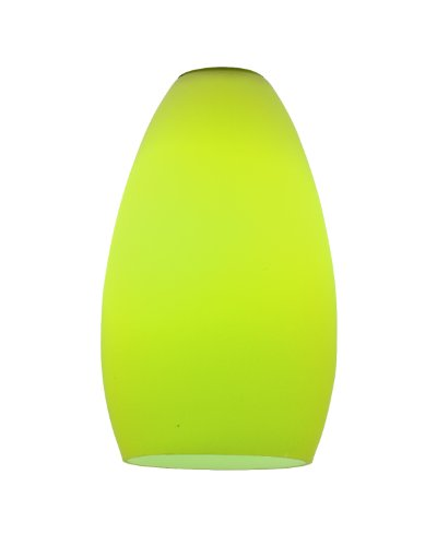 (Access Lighting 23112-LGR Champagne Shade, Light Green Glass Finish)