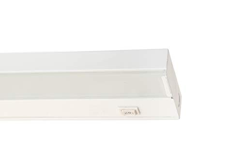 (NICOR Lighting 21.5-Inch Low-Profile Dimmable Xenon Under Cabinet Light Fixture, White (10352WH))