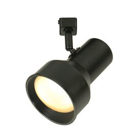 Portfolio 1-Light Black Casual Track Lighting Head by Portfolio - Track Portfolio