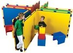 Children's Factory Big Screen Right Angle Panels (CF900-533) Red (Angle Right Panels)