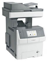 34T5011 Lexmark Lexmark x746de Mfp Color Printer