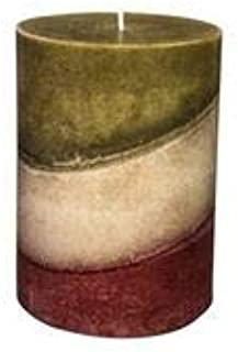 product image for Wicks n More Warmest Wishes Cranberry, Warm Cider Scented Candles (3x4)