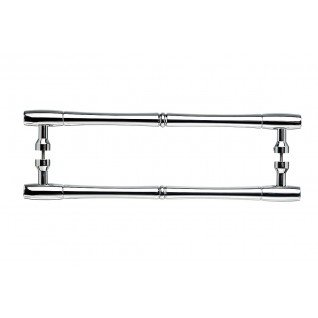 - Top Knobs Nouveau Bamboo Back to Back Door Pull 18