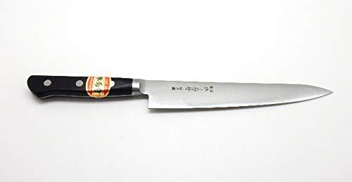 SAKAI KIKUMORI NIHONKO Japanese Hi-Carbon Steel,Professional Paring/Utility Knife (180mm/7.1'')