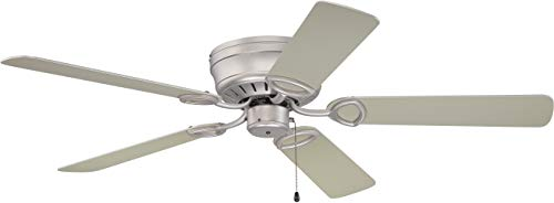 (Craftmade K10197 Ceiling Fan Motor with Blades Included, 52