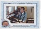 Richard Nixon (Baseball Card) 2015 Topps Archives - Presidential Chronicles #PC-RN