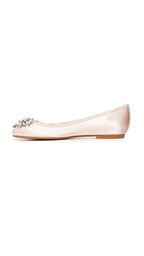 Mischka Bianca Pink Women's Badgley Light Ballet Flat aqw0E1d