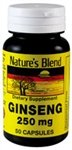 Nature's Blend Ginseng 250 mg 50 Capsules Review