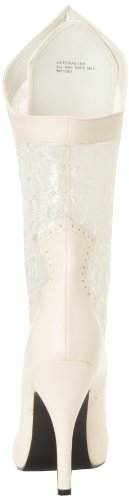 Funtasma VICTORIAN-116X Ivory Pu-Lace Size UK 9 EU 42