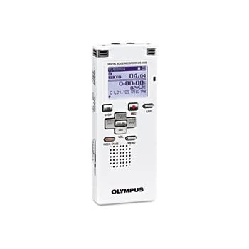 amazon com olympus ws 400 s digital recorder white electronics rh amazon com