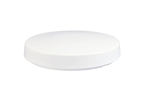 """Solo Lights White Drum Acrylic Cover, Replacement Light Fixture Lens, 14"""""""