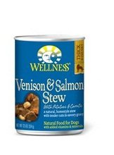 WELLNESS DOG FOOD STW VNSIN SALMN PTO C, 12.5 OZ
