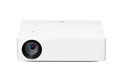 LG beamer HU70LS tot 355,6 cm (140 inch) CineBeam LED UHD 4K projector (1500 lumen, HDR10, webOS 4.5, TruMotion) wit
