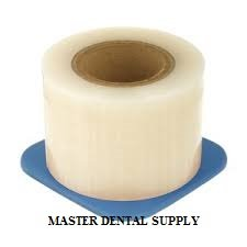 Dental Barrier Film CLEAR 4' X 6'' Size 1200 Sheets Roll Style Dispenser Box. Ships from USA