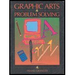 Graphic Arts Problem Solving, Granger, Frank, 0314027394
