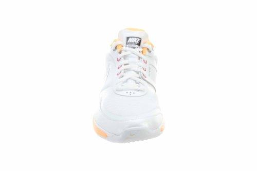 Nike Free Xt Everyday Fit Zapatos Para Mujer Blanco / Metalizado Plata-durazno Cream-total Naranja