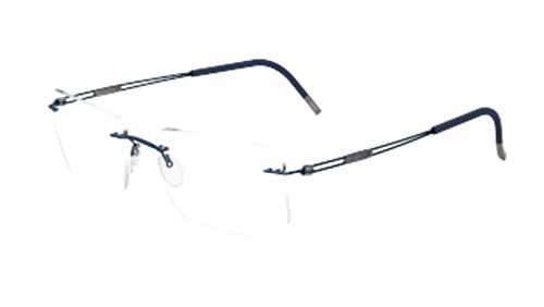 Silhouette Eyeglasses TNG Titan Next Generation Chassis 5521 4540 Optical - Eyeglasses Rimless Silhouette