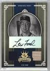 Lew Ford #7/25 (Baseball Card) 2005 Donruss Diamond Kings - [Base] - Gold Black & White Materials Signatures [Autographed] [Memorabilia] #132