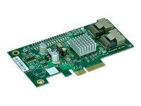 Supermicro PCI Express x4 Low Profile SAS RAID Controller (AOC-SASLP-MV8)