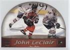 John LeClair (Hockey Card) 1999-00 Pacific Prism - Sno-Globe Die-Cuts #15 (Globe Prism)