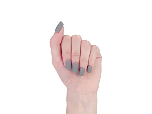 MISUD Square Fake Nails 4 Colors Matte Art Nail Presson Artificial Nails Elegance Colorful Cycleused