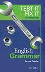 Test it fix it intermediate English grammar
