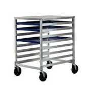 Pan Rack Mobile Bun - New Age 1313 Mobile Half-Size Bun Pan Rack with Work Top & (8) Pan Capacity