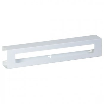 Triple Slimline White Steel Glove Box Holder - CL-GW-2033