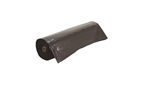 Frost King P1025B/6 Polyethylene Sheeting, 10' x 25' x 6 mil., Black