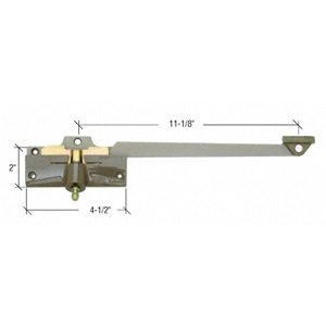 C.R. LAURENCE H4012 CRL Stone 11-1/8'' Left Hand Casement Operator