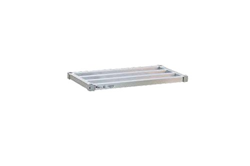 Newage Industrial 1866HD Adjustable Shelf, 18'' Diameter x 66'' Length, HD Style, 2000# Capacity
