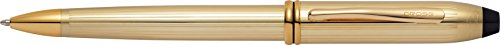 Cross Townsend 10KT Gold-Filled (Rolled Gold) Ballpoint Pen (Filled Gold Pen Ballpoint Cross)