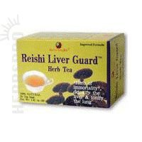 Health King Reishi Liver Guard Herb Tea, Teabags, 20 Count Box