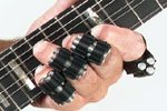 Premium Finger Weights For Musicians - Workout For Guitar Therapy - Hand Strengthener And Lifting Exerciser - Set of 5 - Red NEW - 100% Money Back Guarantee!