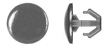 Hooked Push In Rivet, Nylon, 6mm Dia, 9mm L, 6mm, Black - pack of 5 by Unknown