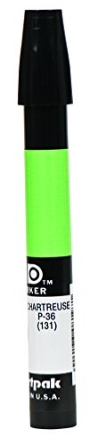 The Original Chartpak AD Marker, Tri-Nib, Chartreuse, 1 Each (P36)