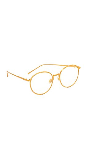 Valley Eyewear Women's Corpus Glasses, Gold/Clear, One - Valley Eyewear Sunglasses