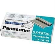 Fax Machine Thermal Transfer Ribbons - Panasonic Panasonic Print Thermal Film Ribbon - 2 Pack - 330 Ft Kxfa136a Pankxfa136 For Us - By