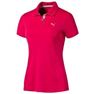 Puma - Polo para Mujer (Talla M), Color Rosa: Amazon.es: Deportes ...