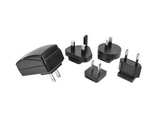 CUI Inc SMI6-5-V-P5 SMI6 Series 6 W 5 V Interchangebale AC Blades Level VI Wall Plug AC/DC Adapter - 1 item(s)