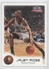 Rose 261 - Jalen Rose #261/300 (Basketball Card) 1999-00 Fleer Focus - [Base] - Masterpiece Mania #12