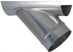 Duct Fitting 6 Quot Round Saddle Tap On 8 Quot Round Hvac Duct