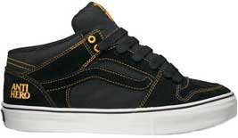 c394a07f63 Image Unavailable. Image not available for. Colour  Vans TNT II Mid Anti- Hero Black Gold ...