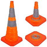 28'' RK Collapsible Traffic Emergency Cone, CONECC28 (2-Packs)