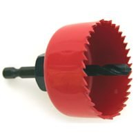 Vulcan 942341OR Carbon Hole Saw with Mandrel 3""