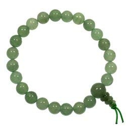 CrystalAge Green Aventurine Power Bead Bracelet