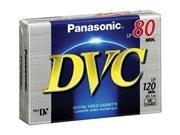Panasonic AY-DVM80EJ MiniDV Cassette (80 Minute) by Panasonic