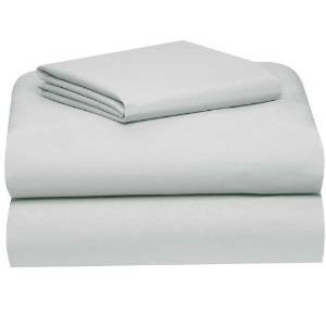 Gray College Classic Twin XL 3-Piece Sheet Set