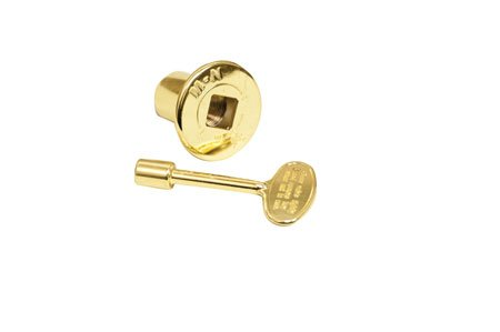 HPC Replacement Flange & Key, Polished Brass